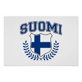 Suomi Poster