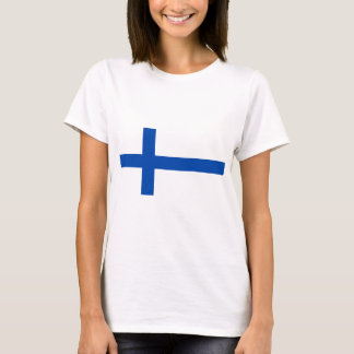 Suomi T-paita - The flag of Finland T-Shirt