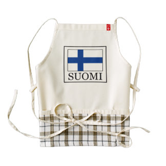 Suomi Zazzle HEART Apron