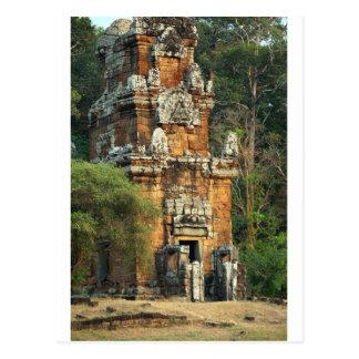 Suor Prat tower in Angkor Thom Cambodia Postcard