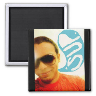 sup. 2 inch square magnet