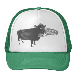 'sup a mis veganos gorras