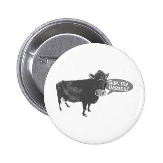 'sup a mis veganos pin