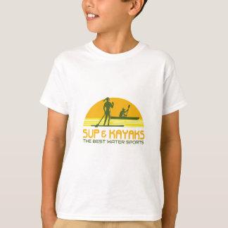 SUP and Kayak Water Sports Retro T-Shirt