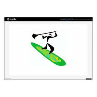 SUP AND SURF LAPTOP DECAL