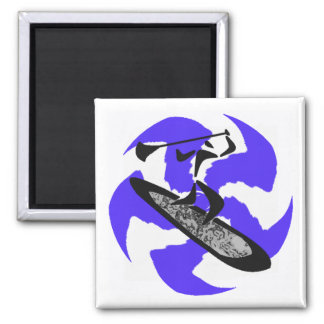 SUP BLUE BAYOU 2 INCH SQUARE MAGNET