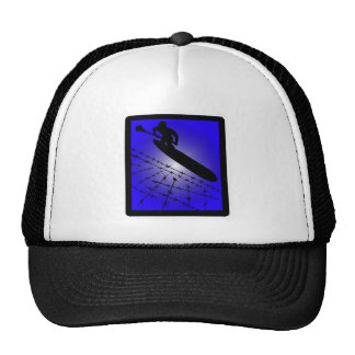 SUP BLUE PACIFIC TRUCKER HAT