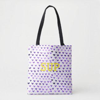sup | custom msg tote bag
