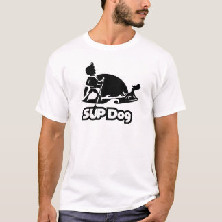 SUP DOG 8 - front and back T-Shirt
