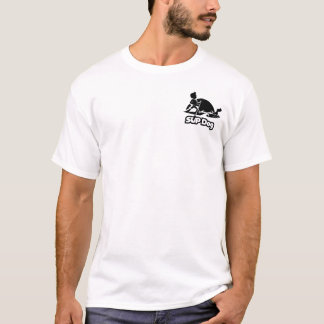SUP DOG 8 - front pocket T-Shirt