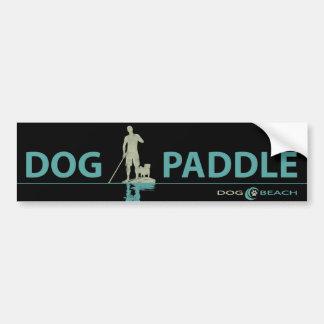 SUP dog bumper sticker