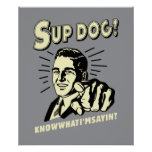 S'up Dog: Know What I'm Sayin Poster