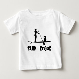 SUP Dog Sitting Baby T-Shirt