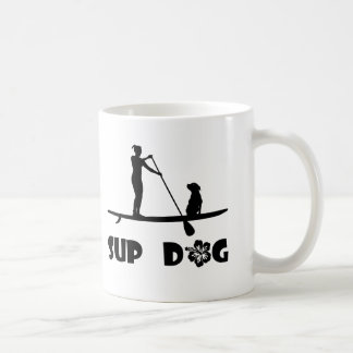 SUP Dog Sitting Coffee Mug