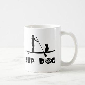 SUP Dog Sitting Mugs