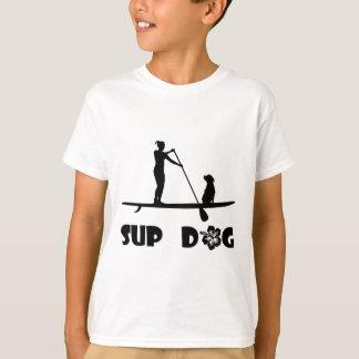 SUP Dog Sitting T-Shirt