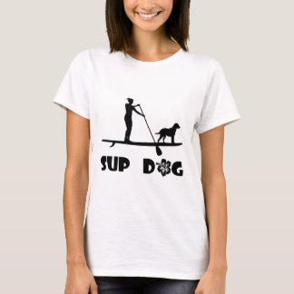 SUP Dog Standing T-Shirt