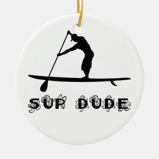 SUP Dude Ornament