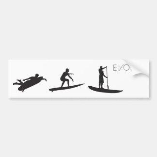SUP Evolve Bumper Sticker
