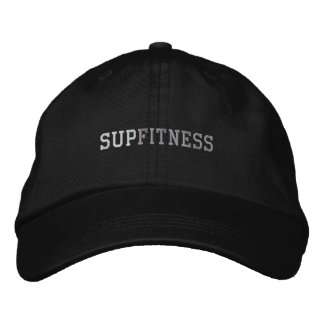 SUP FITNESS EMBROIDERED HAT