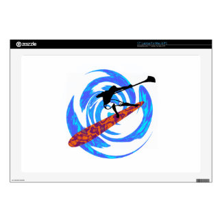 """SUP FOR ADVENTURE 17"""" LAPTOP SKINS"""