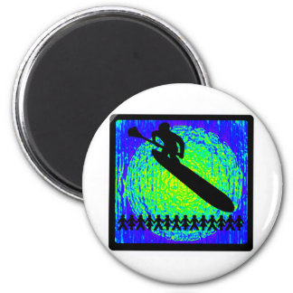 SUP FOR BELIZE 2 INCH ROUND MAGNET