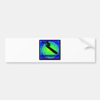 SUP FOR BELIZE CAR BUMPER STICKER