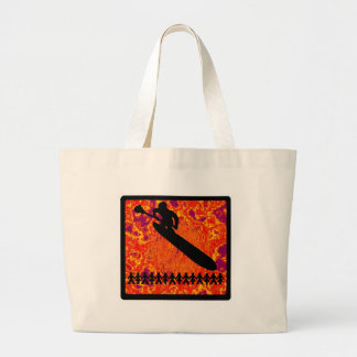 SUP FOR SHARING LARGE TOTE BAG