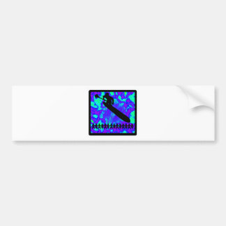 SUP FOR VIBES CAR BUMPER STICKER