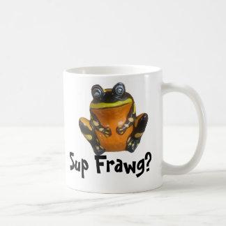 Sup Frawg? Classic White Coffee Mug