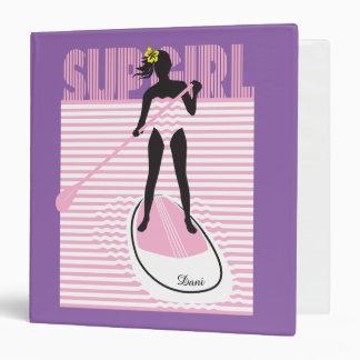 SUP Girl 3 Ring Binder