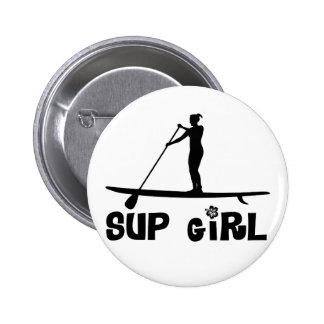 SUP Girl Pins