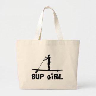 SUP Girl Large Tote Bag