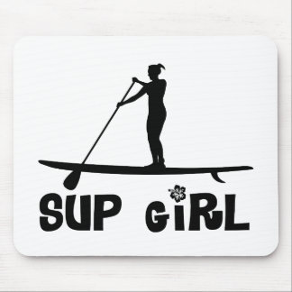 SUP Girl Mouse Pad