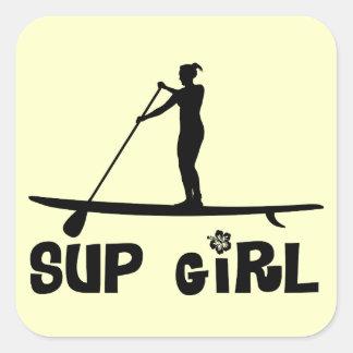 SUP Girl Sticker