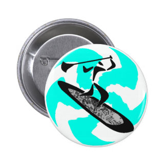 SUP IN BELIZE PIN