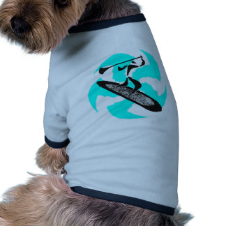 SUP IN BELIZE DOG T SHIRT