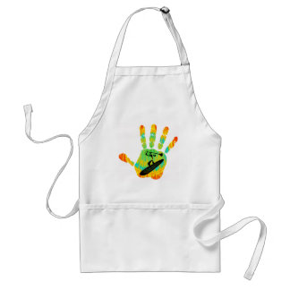SUP LEADS WAY ADULT APRON