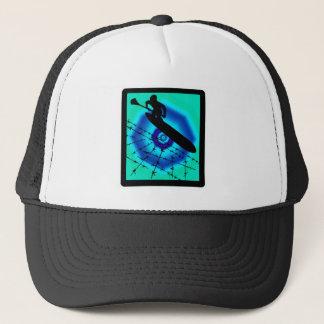 SUP LIME LIGHT TRUCKER HAT