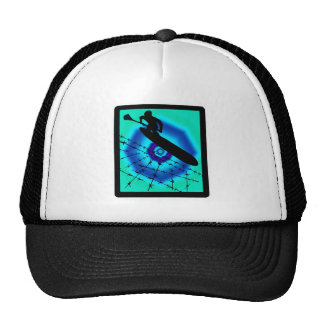 SUP LIME LIGHT TRUCKER HAT