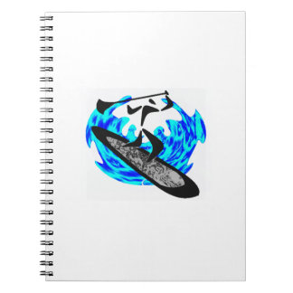 SUP MY DREAMS SPIRAL NOTEBOOK