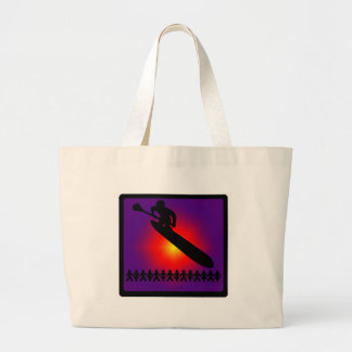 SUP MY SIDE LARGE TOTE BAG