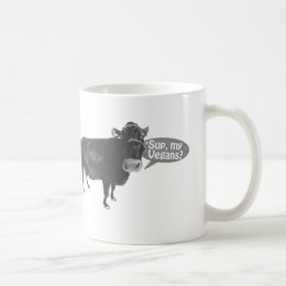 'sup my vegans coffee mug