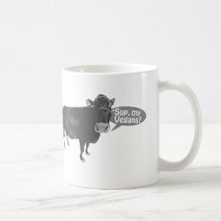 'sup my vegans coffee mug