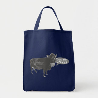 'sup my vegans tote bag