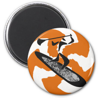SUP NEW MEXICO 2 INCH ROUND MAGNET