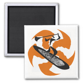 SUP NEW MEXICO 2 INCH SQUARE MAGNET