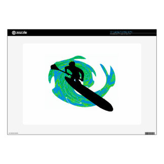 SUP ON TEAL SKIN FOR LAPTOP