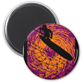 SUP OUTSIDE IN 2 INCH ROUND MAGNET