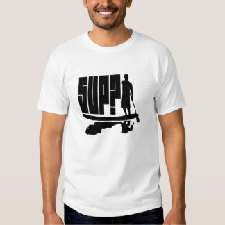 SUP? Paddlers Silhouette T Shirts